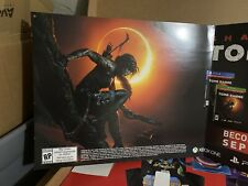 Gamestop Shadow Of The Tomb Raider  Promo Store Display Poster Look At Pictures