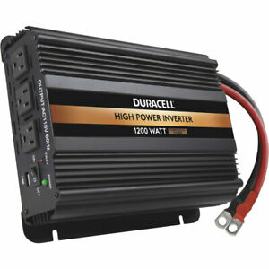 Duracell DRINV1200 Modified Sine Wave Power Inverter 1200 Watts