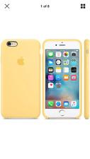 "Amarillo 100% Genuino Original Apple Funda de silicona para iPhone 6/6S 4.7"" Caja Sellada"