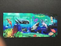 1998 AUSTRALIA POST  MINI SHEET 'PLANET OCEAN' - 6 x 45 cent MNH STAMPS