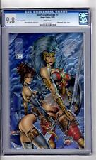 Glory/Avengelyne #1(Chrom Edition) 9.8 CGC WP 'VIRGIN Wrap' Liefeld Story-C&A!