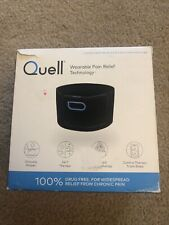 QUELL WEARABLE PAIN RELIEF TECHNOLOGY STARTER KIT *used*