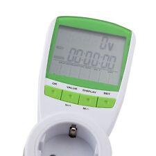 Medidor de Consumo Eléctrico Contador Enchufable 16A Entrega 24-72H