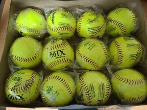 "One Dozen MacGregor 12"" X100 ASA-Approved Fastpitch Softballs"