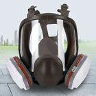 (Sale)15 in1  6800 FullFace Gas  Respirator/Cart/ FilterPaint/ Spray/Vapor/Safe