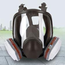 Sale15 In1 6800 Fullface Gas Respiratorcart Filterpaint Sprayvaporsafe