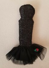 Vtg Barbie Solo In The Spotlight Black Dress Gown Strapless Repro Reproduction