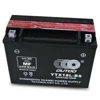 YTX18L-BS Battery fit for 86-99 Y50-N18L-A Yamaha XV1100 Virago XS Venture Vmax