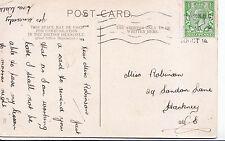 Genealogy Postcard - Family History - Robinson - Hackney - London   V2270