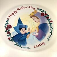 Disney Mother's Day 2004 Sleeping Beauty Princess Aurora Plate