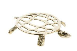 Trivet Brass Shaped Like Turtle