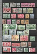 JAMAICA lot of used classic stamps