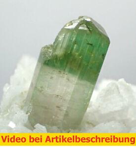 7556 Turmalin Cleavelandite  ca 4*7*4 cm  Nuristan Afghanistan 1989 MOVIE