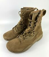 """New Nike 8"""" Special Field 2 SFB Military Boots Coyote AQ1202-900 Men's Size 11"""