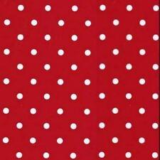 Vinyl Depot High Quality Red Polka Dot Sticky Back Fablon 450mm Wide M