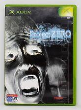 PROJECT ZERO - XBOX - PAL ESPAÑA - FATAL FRAME SPECIAL EDITION