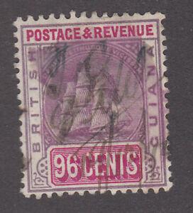 British Guiana 1889-1907 Used Definitive Mast Sailing Ship Fiscal Use SG206
