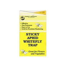 Sticky Aphid White Fly Traps 5/pk