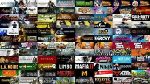 54 PC GAMES(Steam)+FREE StarWarsJedi or DoomEternal+GTA5+AssassinOd LISTofGAMES
