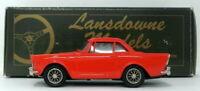 Lansdowne Models 1/43 Scale LDM11 - 1963 Sunbeam Alpine Series III - Red