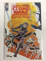 STAR WARS CLONE WARS BATTLE TALES #1 VF/NM Unread