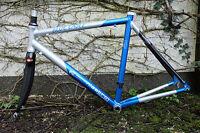 vintage Rennrad Rahmen niestroj hybrid carbon aluminium frame cadre RH55,5