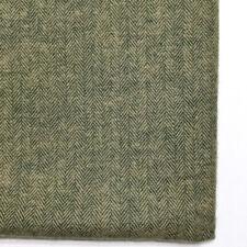 Shetland Herringbone Flannel Fabric 1yd Robert Kaufman Oregano Green SOFT