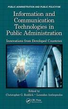Information and Communication Technologies in Public Administration: Innovations