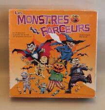 Jeu de société Halloween - Les Monstres Farceurs - occasion - complet