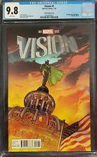 The Vision 1 Ryan Sook 1:25 Variant Tom King First Viv Vision CGC 9.8