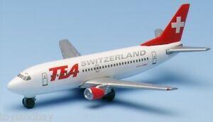 Herpa 500456 Tea Swiss Trans European Airways Boeing 737-300 1:500 Scale 1997