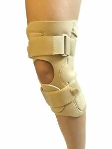 Hinged Knee Arthritis Support Neoprene NHS Stabiliser Wrap Large Size Up To 4XL