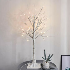 Christmas LED Silver Birch Twig Tree Warm White Light Branches Waterproof Lamp