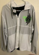 Air Jordan Jumpman Wings Classics Jacket BQ8476-100 White; Size XXL