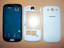 Für Samsung Galaxy S3 i9300 Gehäuse Front BackCover Mittelrahmen Akkudeckel weiß