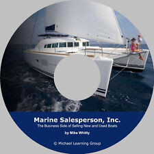 Marine Boat Sales Training - Business Side of Selling Boats eBook on CD