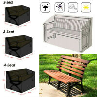 Outdoor Garden Patio Bench Chair Furniture Storage Protection Waterproof Cover