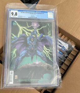 He-Man & the Masters of the Multiverse #1 CGC 9.8 🔥Fraga VARIANT COVER 🔥POP 19