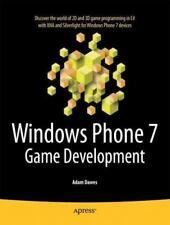 Windows Phone 7 Game Development: By Adam Dawes