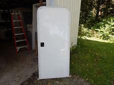 """Trailer Door, 30"""" X 72"""".  W/Screen Door, With Frame, Locks & Keys, Small De #88"""