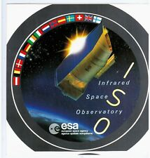 AUTOCOLLANT / STICKER - INFRARED SPACE OBSERVATORY / ESA / ISO