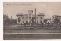 Egypt, Cairo, Pont Limoun Railway Station Postcard, B206