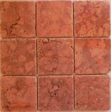 rosoni  rosone mosaico su rete 10x10 rosso verona prezzo al mq