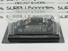 KYOSHO 1:64 Scale Black MERCEDES-BENZ AMG CLK DTM Vodafone Mobil 1 w/Plastic Box