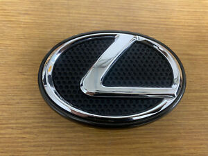 02-05 LEXUS IS300 FRONT GRILLE GRILL CHROME EMBLEM 75312-53020 OEM WARRANTY