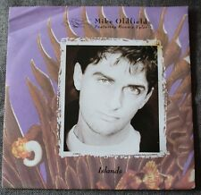 Mike Oldfield featuring Bonnie Tyler, islands / the wind chimes, SP - 45 tours