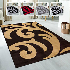 Durable Quality Floral Pattern Non Shed Anti Skid Washable Runner Rugs Online