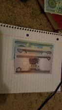 Best Deals!- 800 Iraqi Dinar Set of 1 x 500, 1 x 250, 1 x 50.  UNCIRCULATED!!