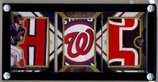 2016 Topps Triple Threads BRYCE HARPER Jersey Logo Patch Booklet 1/1 ! iNsAnE !