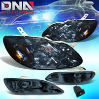 DNA MOTORING FL-ZTL-133-SM Front Bumper Fog Light Replace for 12-14 Accent
